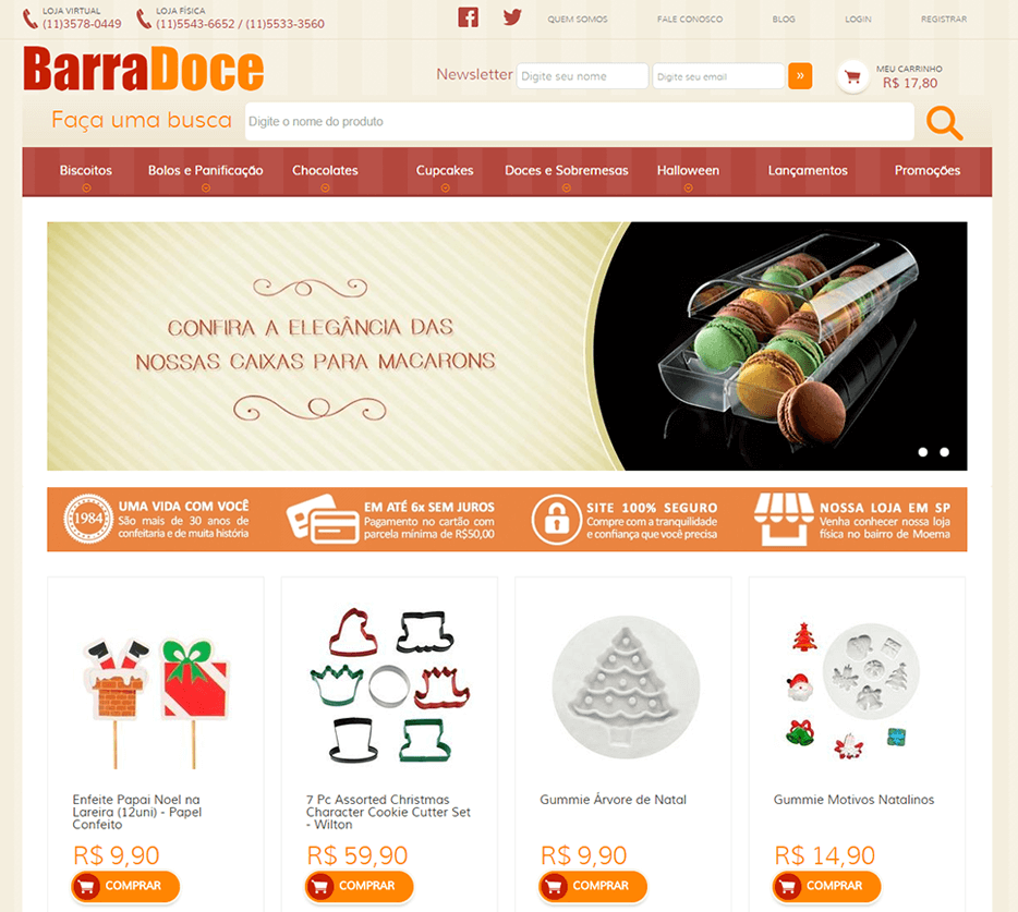 E-commerce Barra Doce